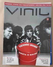 Revista Vinil No. 2 Agosto / Setembro 2004 Cachorro Grande