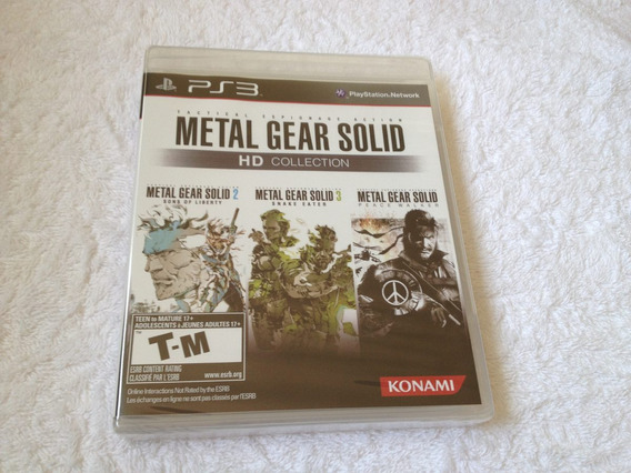 Metal Gear Solid Hd Collection - Lacrado