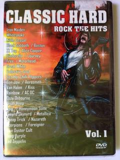 2 Dvds Classic Hard Rock The Hits Vol.1 E Vol.2 (lacrados)