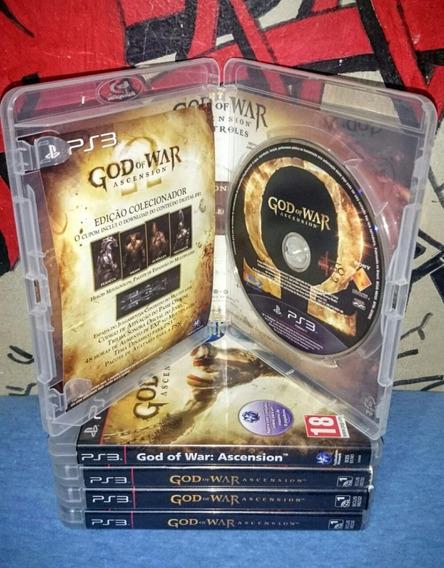 God Of War Ascension 100% Portugues Ps3 Fisica Frete Incluso