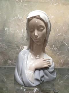 Figura Busto De Porcelana Lladro