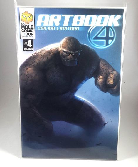 Cómic Variante Del Artbook Art Book 4 De La Mole 2013 Raro