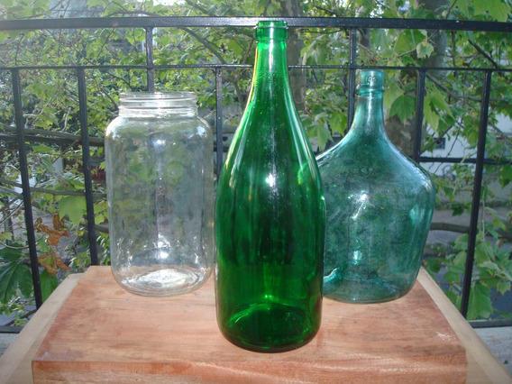 Botellas Antiguas,damajuanas,frascos En Un Lote De 20 Unidad