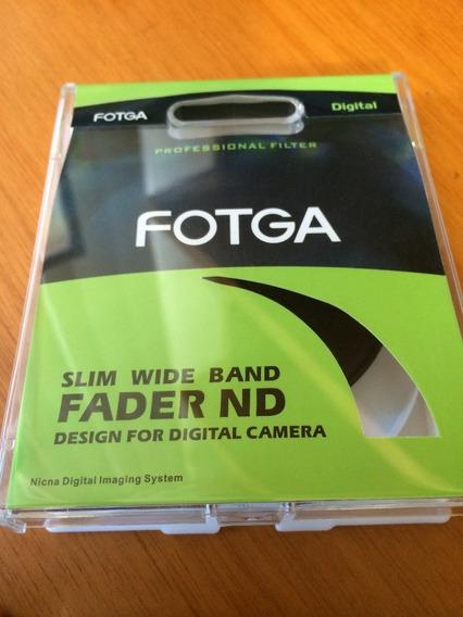 Filtro Nd2 - Nd400 Fotga 52mm + 52mm Uv