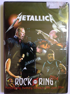 Dvd Metallica Rock Am Ring 2014 ( Original E Lacrado)