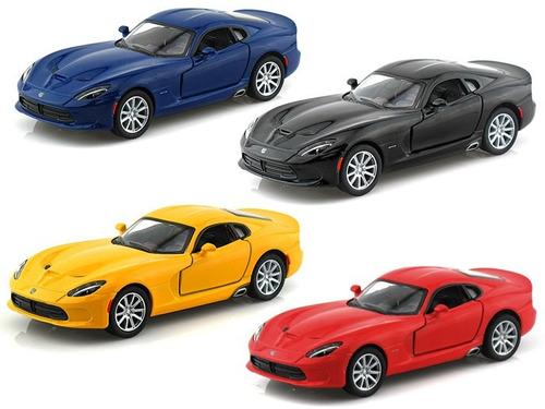 Perudiecast Kinsmart Dodge Viper Gts 2013 -  Escala 1.36