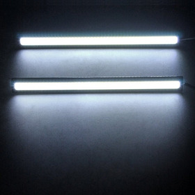 Lampada 4 Leds Drl 6000k Farol Dia Auxiliar Branca Xenon Par