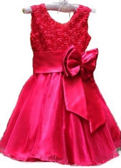 Vestido Infantil Princesa Luxo Festa Tam 1 Ao 14a P. Entrega