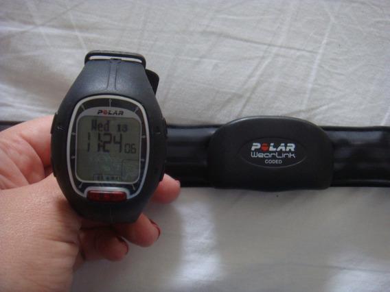 Relógio Polar Frequencimetro Rs100 - Novinho