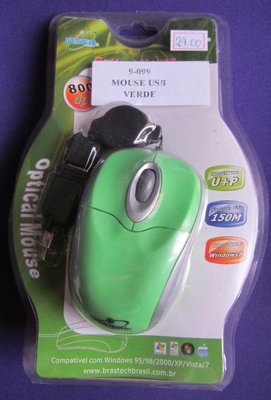 Mouse Usb Verde