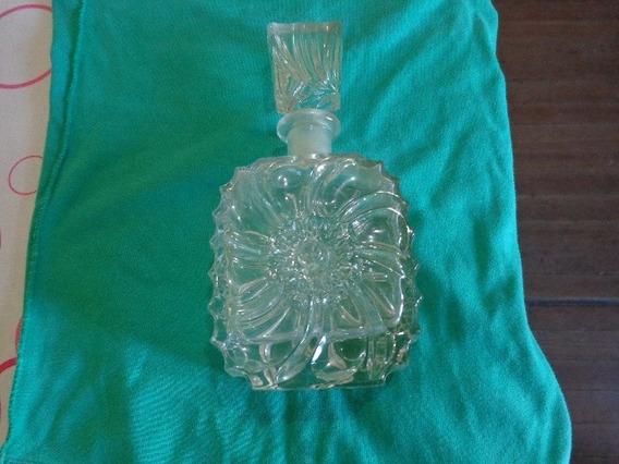Botella Antigua Trabajada En Relieve Usada Perfecto Estado.