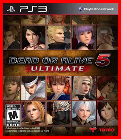 Dead Or Alive 5 Ultimate Ps3 Psn