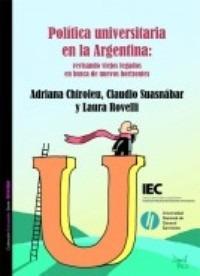 Política Universitaria En Argentina - Chiroleu - Suasnábar