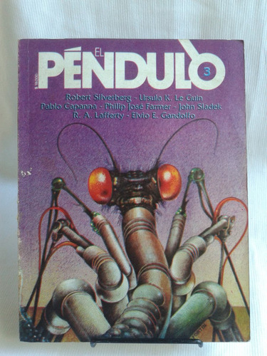 Imagen 1 de 4 de Revista El Pendulo 3 Robert Silverberg De La Urraca