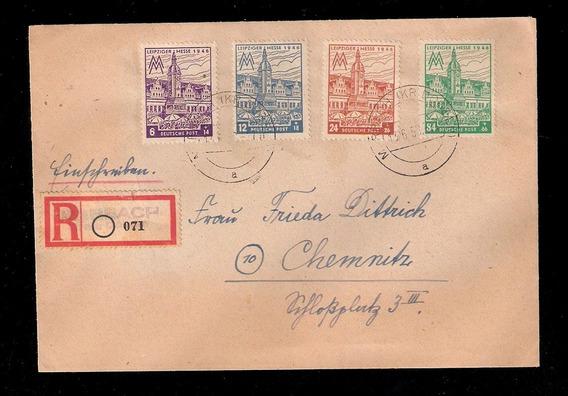 Zona Sovietica-mi.162cx/165cx.carta Datada 13.6. 1952/53