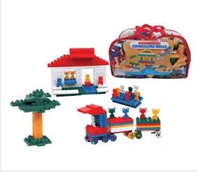Brinquedo Didático Peças Conectando Ideias - 1000pçs