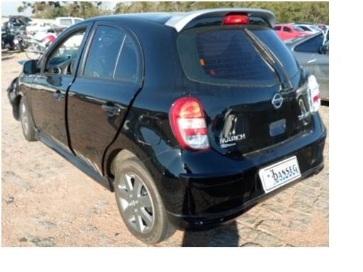 Nissan March Versa Sv 1.6 16v 2012 Sucata Peças