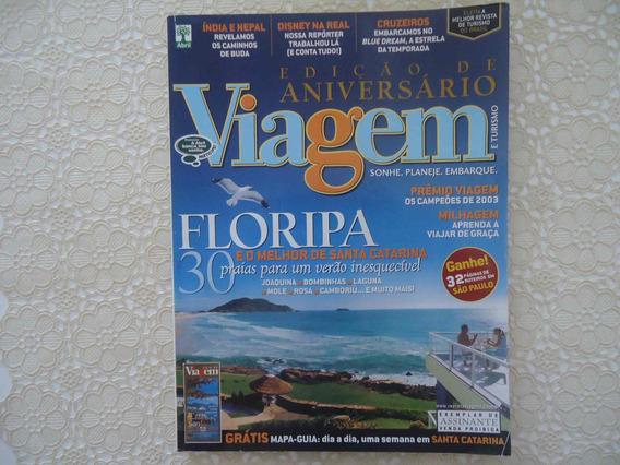 Viagem E Turismo #97 Ano 2003, Santa Catarina, Com O Mapa Gu