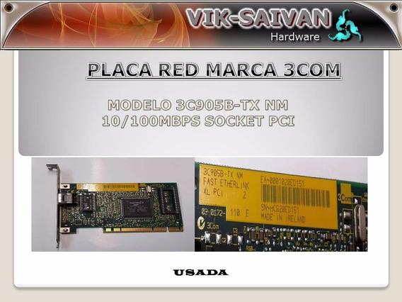 Placa De Red 3com 3c905b-tx Nm 10/100 Pci 59