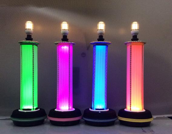 Abajur - Luminária De Led Digital De 5 Toques