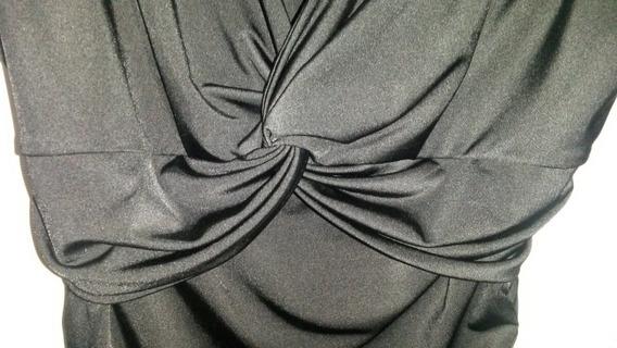 Vestido Negro Talle L Imperdible!