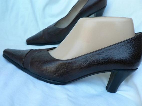 Zapato Clasico Con Antideslizante Nº 38 Igual A Nuevo Febo
