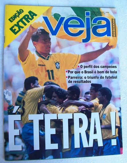Veja Nº 1349-a - Edição Extra - É Tetra! Copa Do Mundo 1994