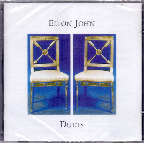 Cd Elton John - Duets - Novo***