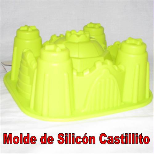 Molde De Silicon Para Torta Quesillo Gelatina Castillito