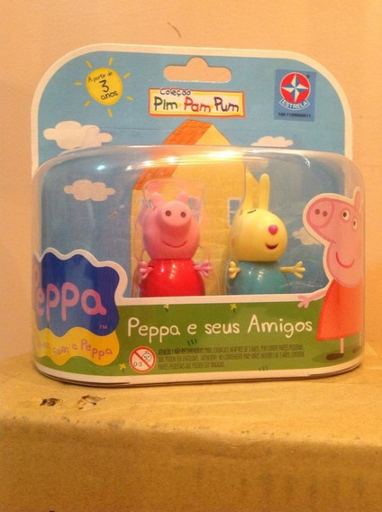Peppa Pig E Rebecca Da Estrela 06 Cm - Bonellihq K18
