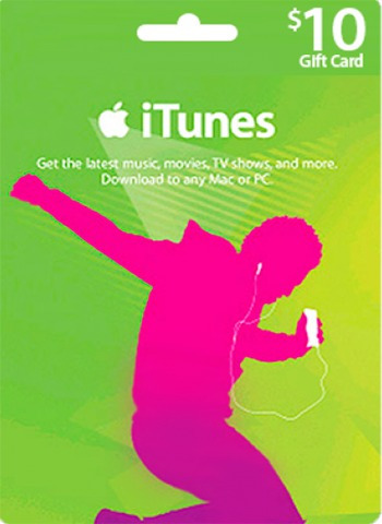 Itunes Gift Card 10 $ Dolares Apple iPod iPhone iPad App Mac