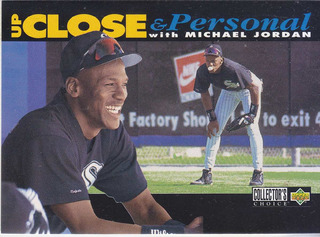 1994 Choice Close Up & Personal Michael Jordan White Sox