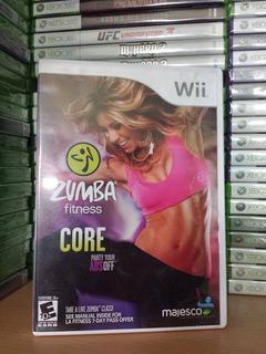 Zumba Fitness Core - Practicamente Nuevo - Wii