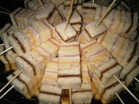 Pincho Sanduchón O Sandwichon Pasapalo Para Fiestas O Evento