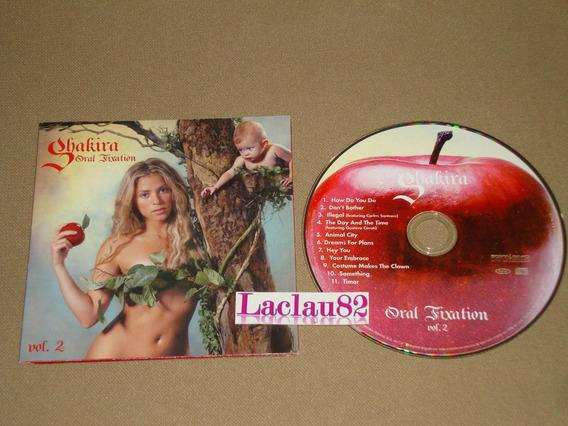 Shakira Oral Fixation Vol 2 - 2005 Sony Cd