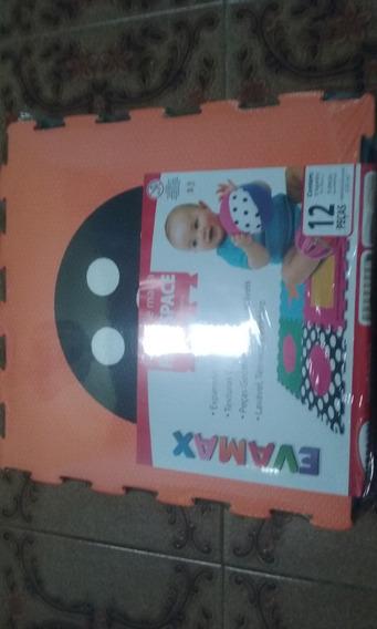 Tapete Em Eva, Infantil 39x39cm, Kit C/06 Placas!