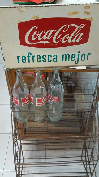 Unico Exhibidor De Botellas De Coca Cola