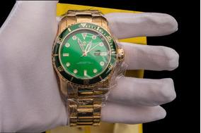 Relógio Invicta Pro Diver Banhado A Ouro