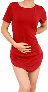 Blusas Longline Tipo Vestido Recorte Lateral Diversas Cores