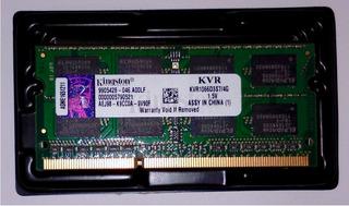 8gb Kingston Memory Ram 1066mhz Ddr3, Mac (2x4gb)