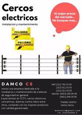Cerco Electrico Y Concertina Instalaciòn Y Mantenimiento