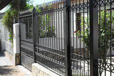 Frente De Reja Cuadrado 9/16 Con Instalacion $17995