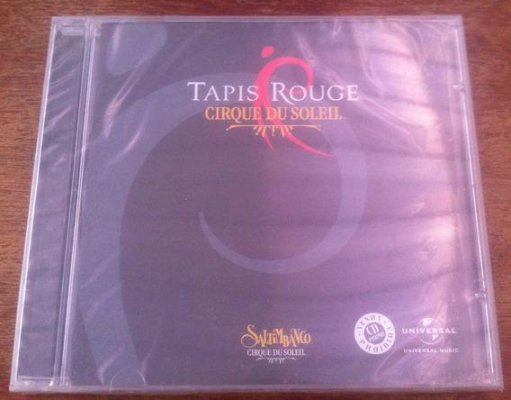 Cd Cirque Du Soleil - Tapis Rouge Saltimbanco