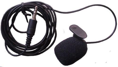 Microfone De Lapela Com Fio P/ Câmera Filmadora Notebook Pc
