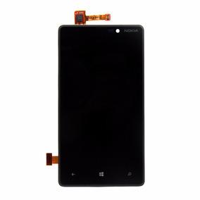 Tela Vidro Display Completo + Moldura Para O Lumia 820
