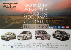 Rent A Car Bariloche