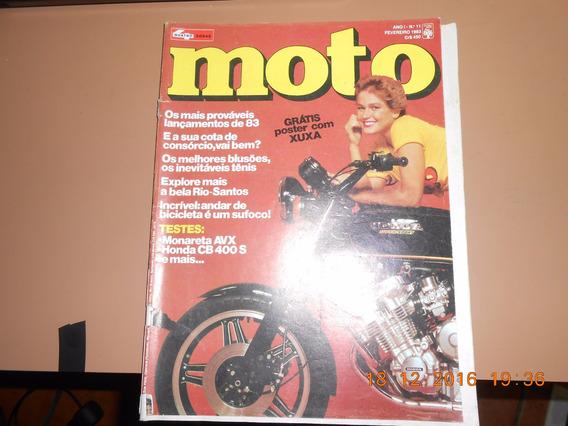 Revista Moto Antigas Xuxa Especial