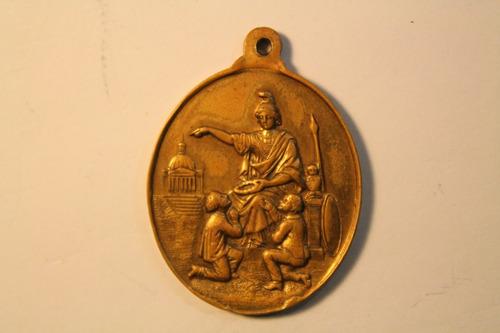 Imagen 1 de 2 de Medalla Argentina Al Merito Antigua Bronce