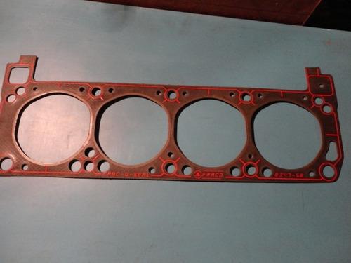 Empacadura De Camara Ford 400,  351cm Marca Fraco  Negra