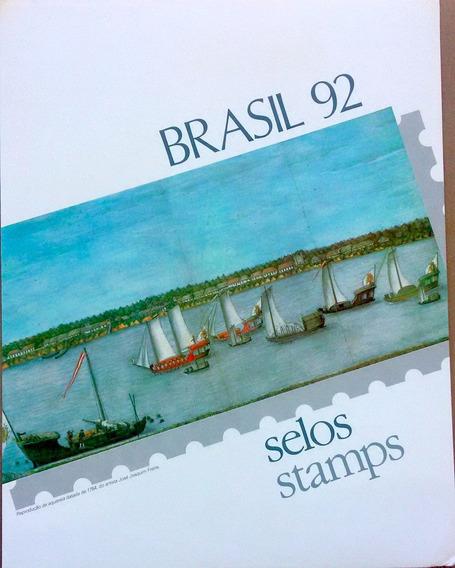V-8511 - 1992 - Album De Selos Do Brasil - Sem Selos
